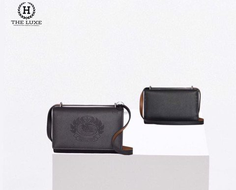 Burberry Hadley Smooth Leather Crest new season2019
