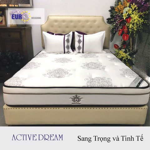 Nệm Lò Xo EURO BEDDING Ative Dream