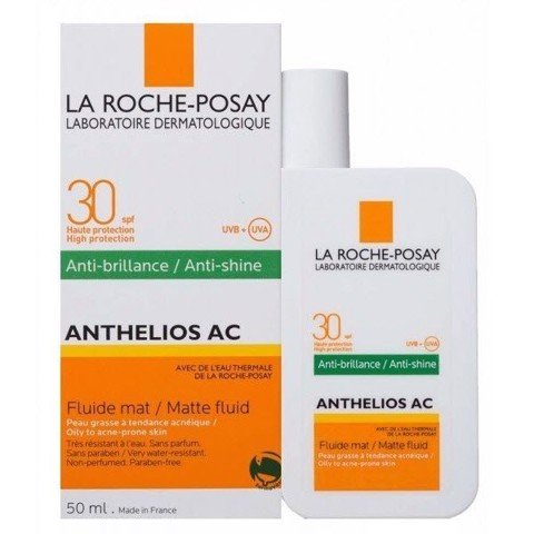 Kem chống nắng La Roche-Posay Anthelios AC SPF30 PPD25 Matte Fluid 50ml