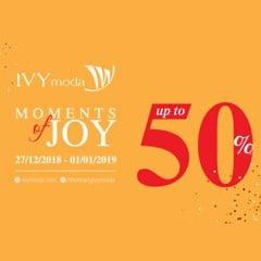 MOMENTS OF JOYS - SALE UP TO 50%