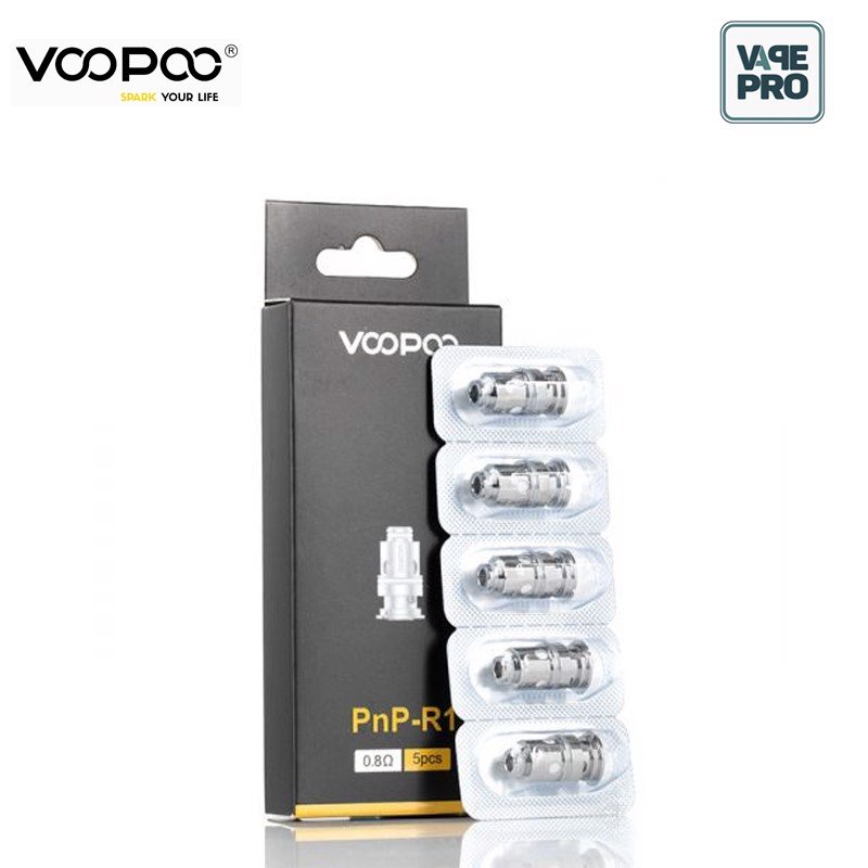Pack 5 Coils 0.8ohm PnP R1 thay thế cho Pod System VINCI by Voopoo