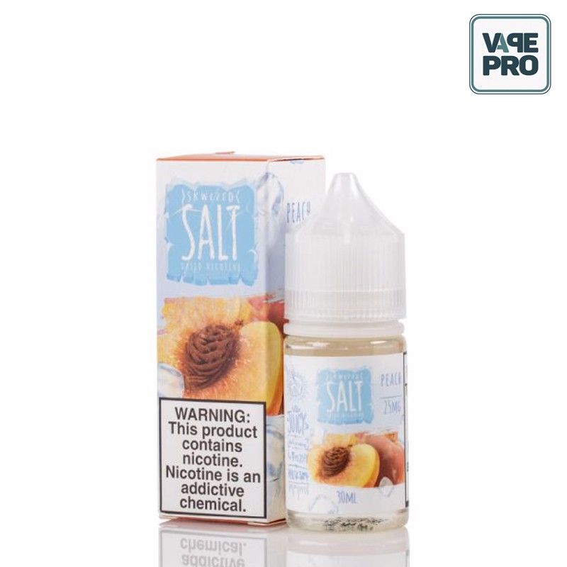 ICED PEACH (Đào lạnh) - SKWEZED SALT - 30ML