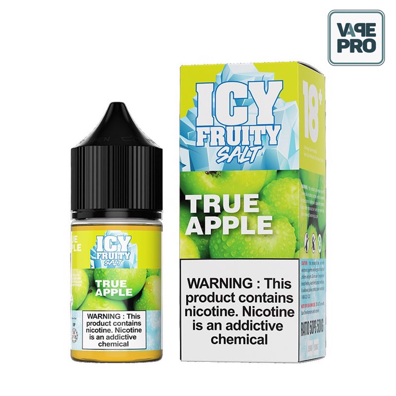 True Apple (Táo xanh lạnh) Icy Fruity Salt 30ML