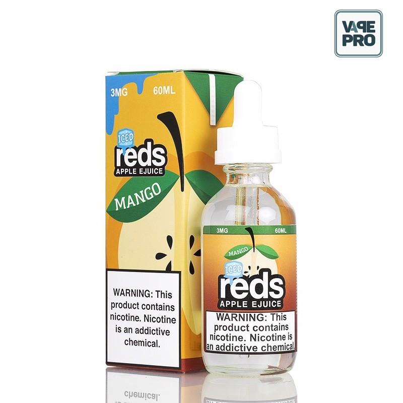 MANGO ICED(Táo Xoài lạnh) REDS APPLE EJUICE - 7 DAZE - 60ML