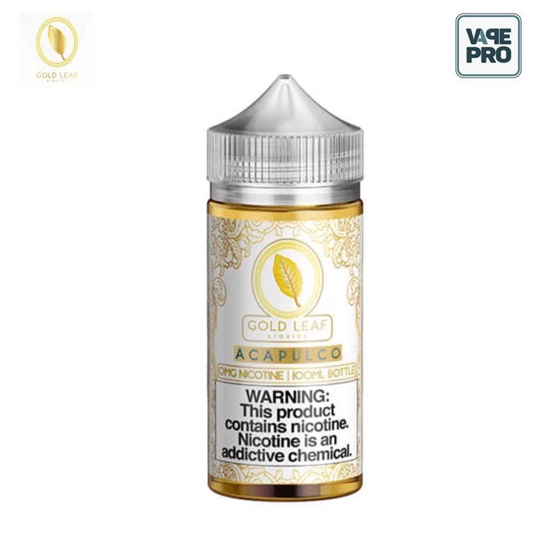 ACAPULCO (THUỐC LÁ VANI) 100ML - 3MG BY GOLD LEAF LIQUIDS