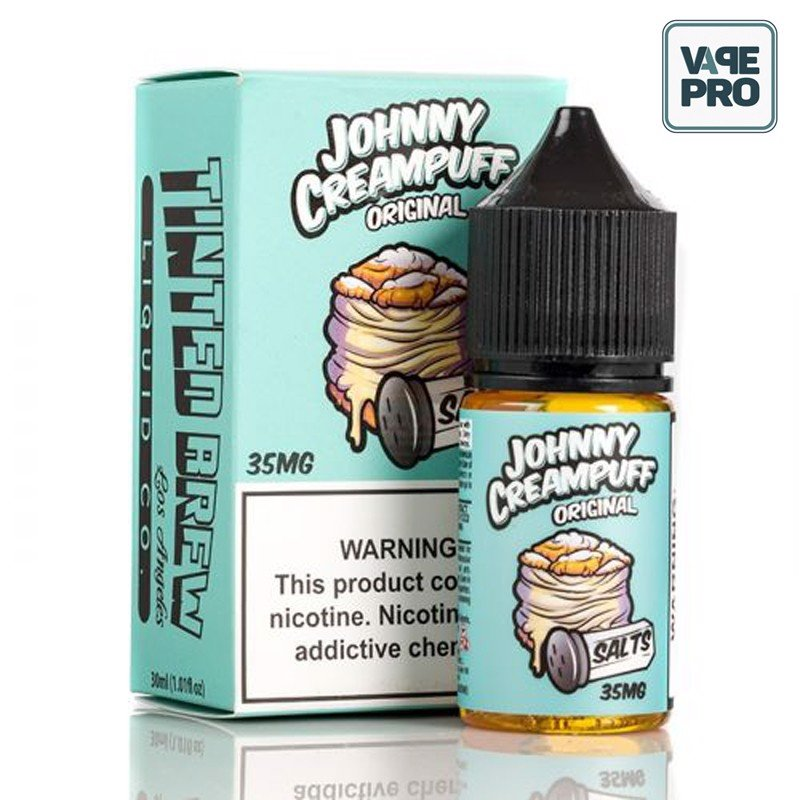 JOHNNY CREAMPUFF - ORIGINAL ( Bánh Su kem ) BY TINTED BREW JUICE CO. - 30ML