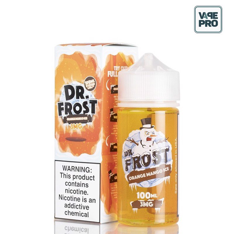 ORANGE MANGO ICE (Cam xoài lạnh) 100ML by DR. FROST