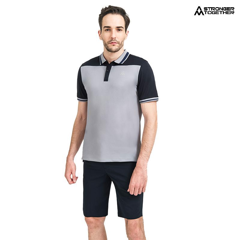 Áo Polo men AM MP090 Grey/navy