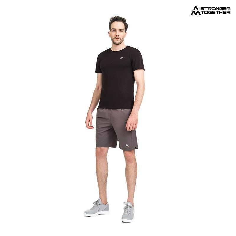 Quần short running Men AM P81 Grey