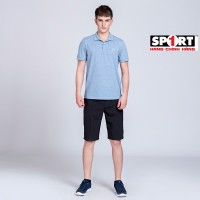 Quần short golf nam tím than SG04