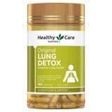 Viên uống giải độc phổi Healthy Care Original Lung Detox 180 viên