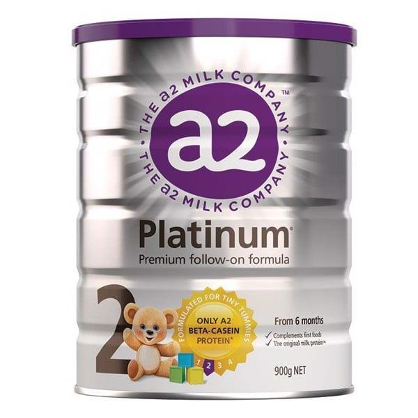 Sữa A2 Platinum Số 2 dành cho trẻ từ 6 đến 12 tháng