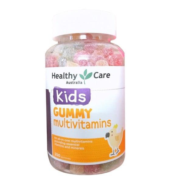 Kẹo dẻo vitamin cho bé Healthy Care Kids Gummy Multivitamins 250 viên