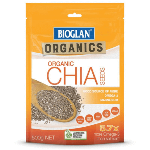 Hạt Chia Hữu Cơ - Bioglan Organic Chia Seeds 500g