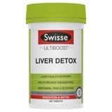 Viên Uống Bổ Gan Và Giải Độc Swisse Liver Detox 200 viên