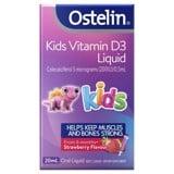 Vitamin D3 dạng nước cho bé Ostelin Kids Vitamin D3 Liquid 20ml