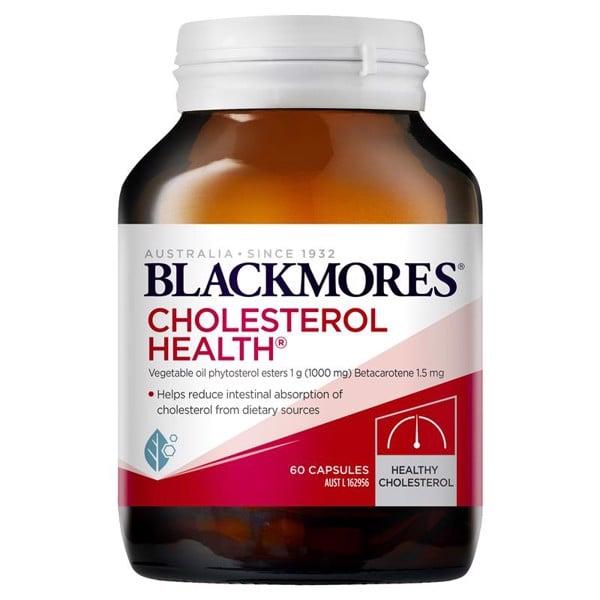 Blackmores Cholesterol - Hỗ trợ cân bằng Cholesterol, giảm mỡ máu 60 viên