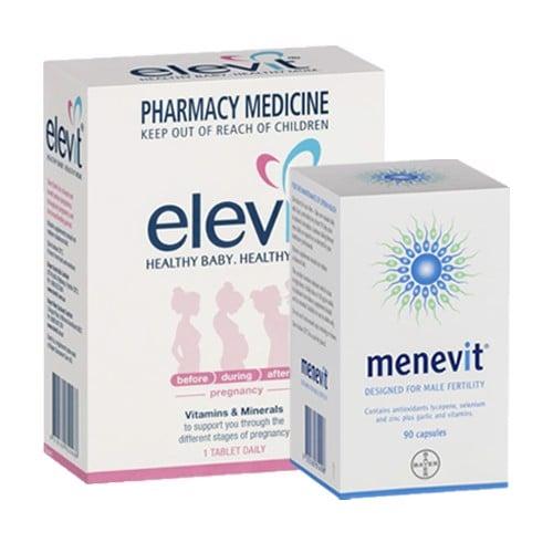 Combo vitamin tổng hợp, tăng thụ thai