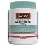 Dầu Cá biển Không Mùi Swisse Ultiboost Odourless Wild Fish Oil 1000mg 500 viên nang