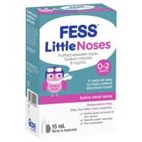 Xịt mũi cho trẻ mới sinh và em bé Fess Little Nose Spray + Aspirator 15ml (Kèm bóng hút)