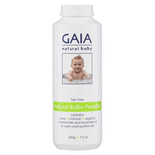 Phấn rôm hữu cơ Úc GAIA Powder 200g
