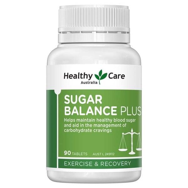 Viên Uống Cân Bằng Đường Huyết Healthy Care Sugar Balance Plus 90 viên