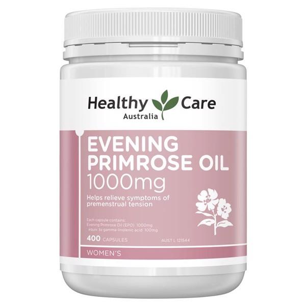 Viên Uống Tinh Dầu Hoa Anh Thảo Healthy Care Evening Primrose Oil 1000mg 400 Viên