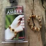Vòng hổ phách đeo tay cho bé Little Smile Amber của Úc