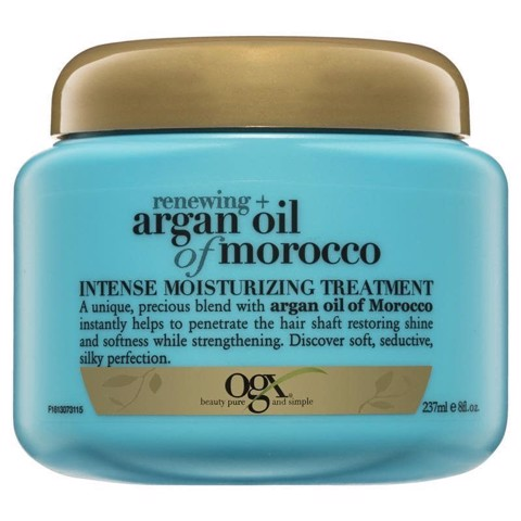 Kem ủ tóc Organix OGX Renewing Argan Oil of Morocco Intense Moisturizing Treatment 237mL