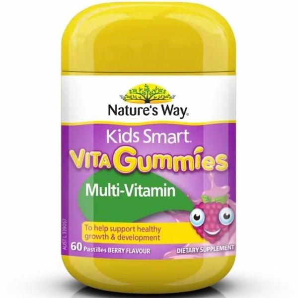 Kẹo bổ sung Vitamin và rau quả cho bé - Gummies Multi-vitamin + Vegies 60 viên