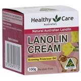Kem dưỡng da nhau thai cừu kết hợp tinh dầu hoa anh thảo Healthy Care Lanolin Cream with Evening Primerose Oil 100g