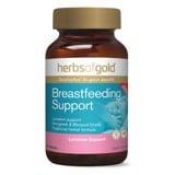 Lợi sữa Herbs of gold Breastfeeding Support 60 viên - Kích sữa mẹ dồi dào, thơm mát