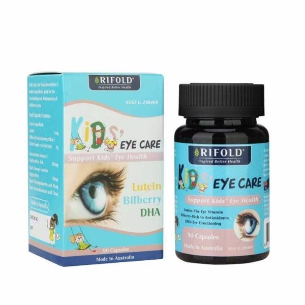 Bổ mắt cho bé Rifold Kid Eye Care trên 4 tuổi 90 viên của Úc