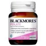 Viên uống bổ sung acid Folic Blackmores Folate 500mcg 90 viên
