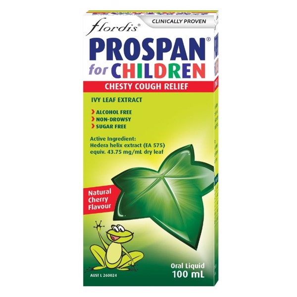 Siro ho Úc Prospan Chesty Cough Children's (Ivy Leaf) 100ml
