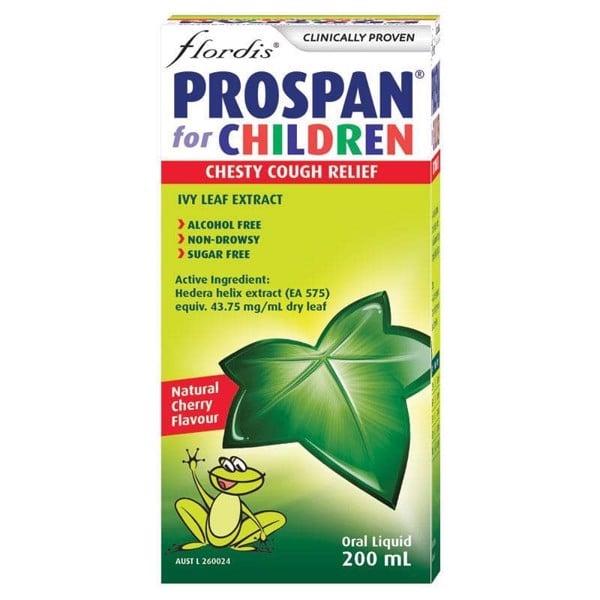 Siro ho Úc Prospan Chesty Cough Children's (Ivy Leaf) 200ml