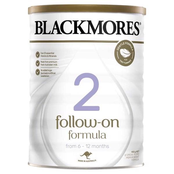 Sữa Blackmores Số 2 Úc 900g cho bé từ 6- 12 tháng tuổi