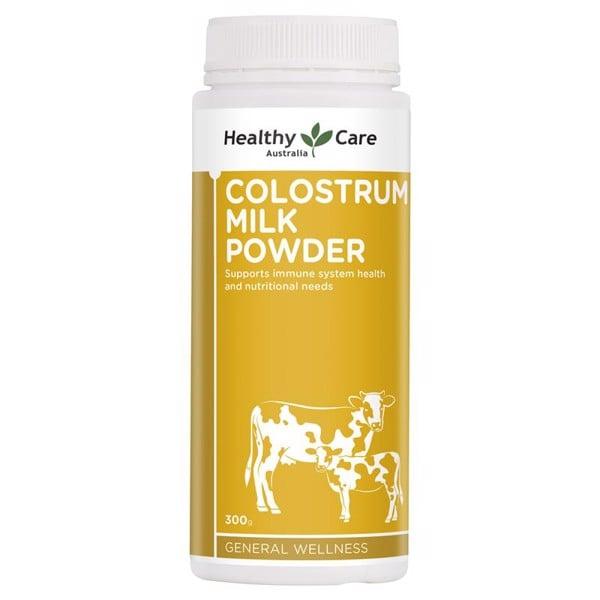 Sữa bò non Healthy Care Colostrum Milk Powder 300g - Tăng cường đề kháng, nâng cao thể chất