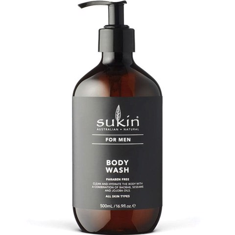Sữa Tắm Cho Nam Giới Sukin For Men Body Wash 500ml