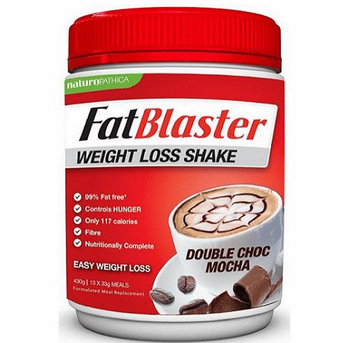 Sữa Uống Giảm Cân Fat Blaster Chocolate 430g
