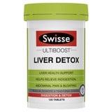 Bổ Gan Và Giải Độc Swisse Liver Detox 120 viên