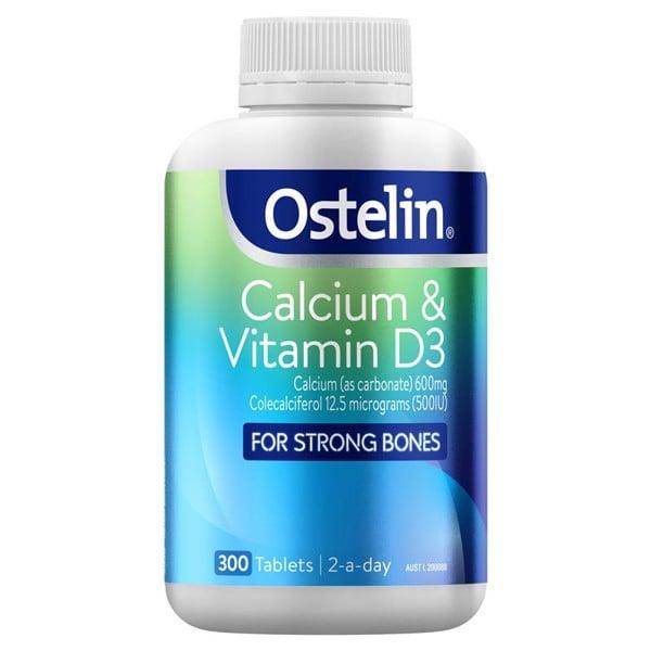 Bổ Sung Canxi & Vitamin D3 Ostelin cho bà bầu 300 viên