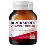 Bổ sung Vitamin E Blackmores Vitamin E 1000IU 30 viên