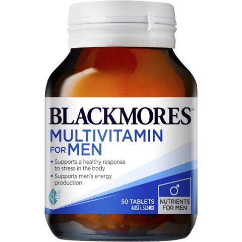 Vitamin tổng hợp cho nam Blackmores Multivitamin For Men 50 viên