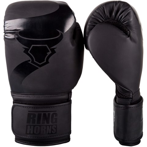 GĂNG BOXING RINGHORNS CHARGER - BLACK/BLACK