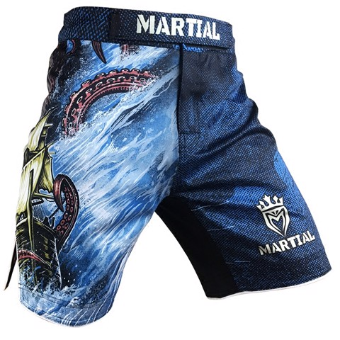 QUẦN MMA MARTIAL THE GREAT SAILING COURAGE - THE GREAT SAILING COURAGE MMA SHORT