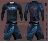 Quần MMA Martial Wolf King - Wolf King MMA Short