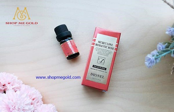 Nước hoa Dionel Secret Love Romantic Rose (Chai 5ml)