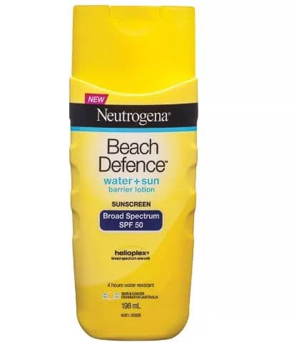 Lotion chống nắng Neutrogena Beach Defense Sunscreen Broad Spectrum SPF 50+