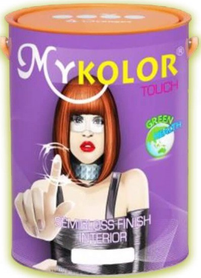 Mykolor Touch Semigloss For Int-Sơn nội thất Bóng Mịn